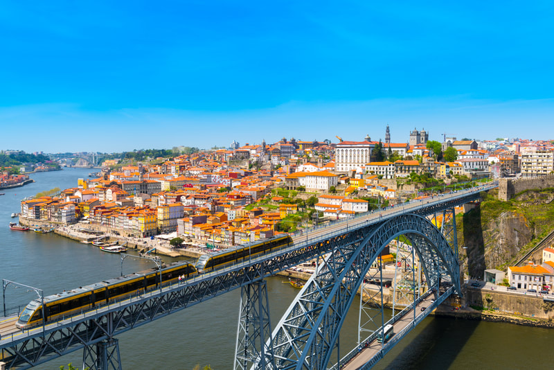 City Bridge Porto Portugal