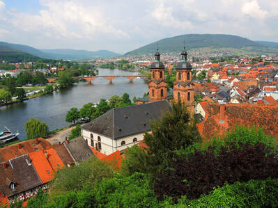Miltenberg, Germany and the Seine River