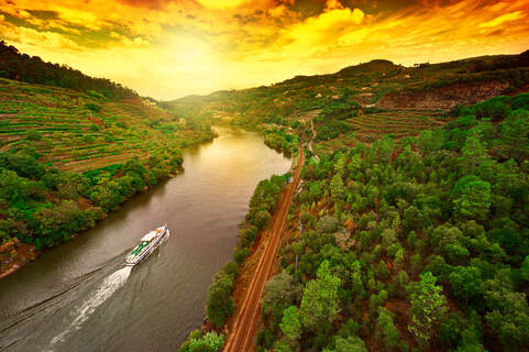 Cruising Douro River Valley Portugal